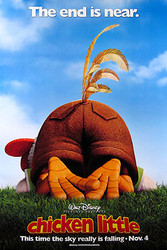 CHICKEN LITTLE (Double Sided Advance Style B) ORIGINAL CINEMA POSTER