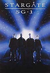 STARGATE SG-1 (Blue Reprint) REPRINT POSTER