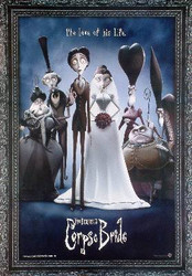 CORPSE BRIDE (Wedding Alive Reprint) REPRINT POSTER