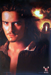 PIRATES OF THE CARRIBEAN: DEAD MAN'S CHEST (Bloom Reprint) REPRINT POSTER