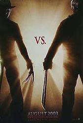 FREDDY VS. JASON (Double Sided Advance) ORIGINAL CINEMA POSTER