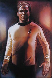 CAPTAIN KIRK (SINGLE SIDED) ORIGINAL CINEMA POSTER