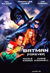 BATMAN FOREVER (Double Sided Regular) ORIGINAL CINEMA POSTER