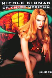 BATMAN FOREVER (Single Sided Advance Nicole Kidman) ORIGINAL CINEMA POSTER