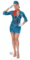 Air Hostess - Lifesize Cardboard Cutout / Standee