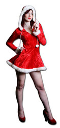 Mrs Christmas (Cut-out) - Lifesize Cardboard Cutout / Standee