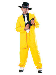 Gangster Wearing Yellow suit - Gangsters & Molls - Lifesize Cardboard Cutout / Standee