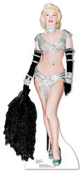 Marilyn Monroe Showgirl cardboard cutout