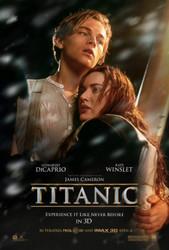 TITANIC 3D Poster
