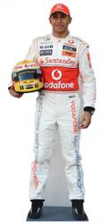 Lewis Hamilton Cardboard Cutout