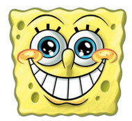 Spongebob Smile Face Mask
