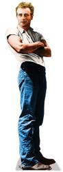 James Dean Cutout