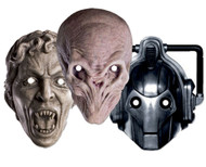 Doctor Who Party Face Masks  (Monsters set of 3)