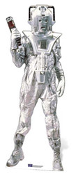 Classic Cyberman cutout