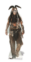 Tonto Lifesize Cardboard Cutout / Standee (Johnny Depp The Lone Ranger)