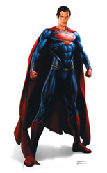 Man Of Steel Superman (Henry Cavill) Lifesize Cardboard Cutout / Standee