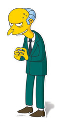 Mr Burns Cardboard Cutout