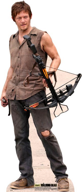 Daryl Dixon The Walking Dead Lifesize Cardboard Cutout
