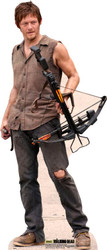 Daryl Dixon The Walking Dead Lifesize Cardboard Cutout