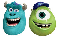 Sulley and Mike Party Face Masks set of 2 (Monsters University)