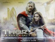 Thor The Dark World Movie Poster - Destruction of London Style
