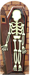 Skeleton Halloween Stand-in Cardboard Cutout
