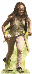 Michonne Walking Dead Cardboard Cutout