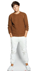 Louis Tomlinson Cardboard Cutout - Casual Style