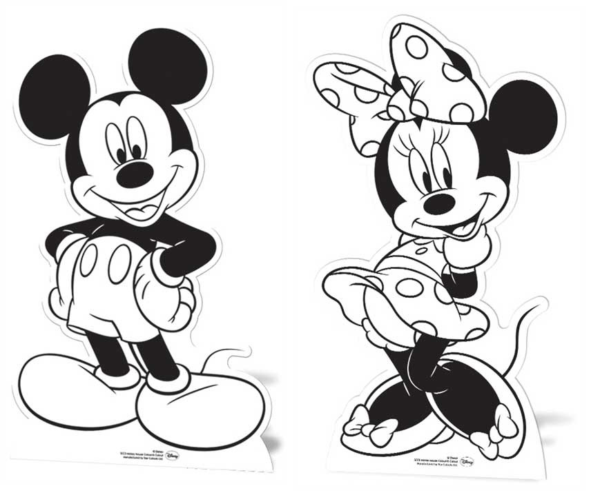 Minnie Mouse Face Cutout Images amp Pictures Becuo