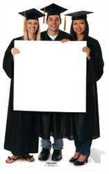 Graduation Sign Lifesize Cardboard Cutout