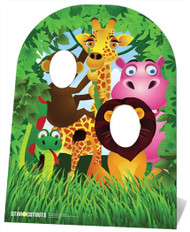Jungle Stand In Child Size Cardboard Cutout