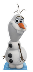 Olaf from Frozen Cardboard Cutout