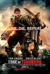 Edge of Tomorrow Original Movie Poster