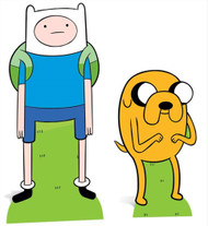 Finn and Jake from Adventure Time Cardboard Cutout Double Pack