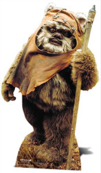 Wicket The Ewok Cardboard Cutout