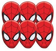Spider-Man Party Masks Pack of 6