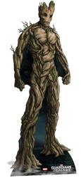 Groot Guardians Of The Galaxy Lifesize Cardboard Cutout