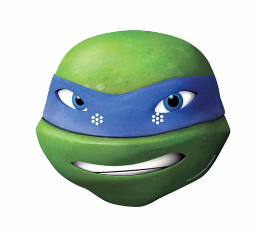 Leonardo ninja turtle face - photo#8