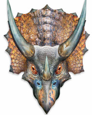 Triceratops 3D Pop Out Wall Art