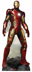 Iron Man Marvel's Age of Ultron Lifesize Cardboard Cutout