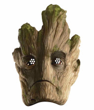 Groot Guardians of the Galaxy Single Card Face Mask