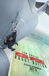 Mission Impossible Rogue Nation Original Movie Poster