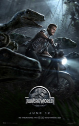 Jurassic World Original Movie Poster