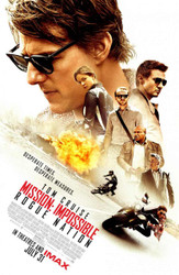 Mission: Impossible - Rogue Nation Original Movie Poster