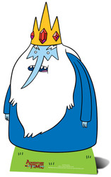 Ice King from Adventure Time Cardboard Cutout