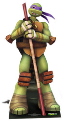 Donatello Teenage Mutant Ninja Turtles Mini Cardboard Cutout