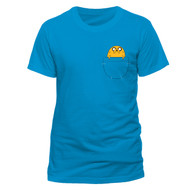 Adventure Time Jake on Pocket Official Unisex T-Shirt