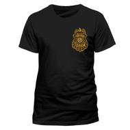 Batman Arkham Knight Gotham City PD Badge Official Unisex T-Shirt
