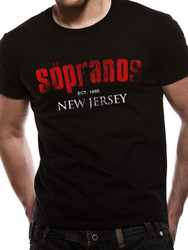 The Sopranos New Jersey Official Unisex T-Shirt
