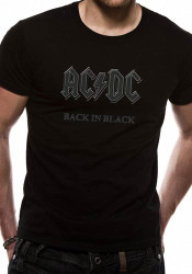 AC/DC Back In Black Official Unisex T-Shirt